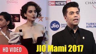 Kangana Ranaut And Karan Johar At Jio Mami Film Festival 2017 | Mami Opening Festival 2017
