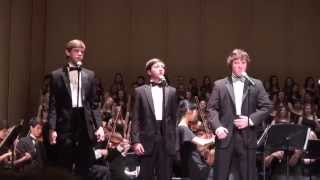 High School Vocal and Symphony Orchestra The Tenors Of Comedy Show