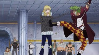 Bartolomeo Doesn't Let Cavendish Sleep In Peace FUNNY | One Piece 737