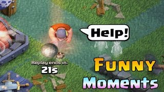 Clash of Clans Funny Moments Trolls Compilation #14 | COC Montage