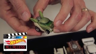Star Wars: The Force Awakens – with Bryan Benedict | All Access | Hot Wheels