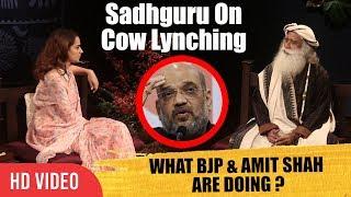 Why Cow Lynching ? What Is BJP & Amit Shah Doing ? | Kangana Ranaut In Conversation With Sadhguru