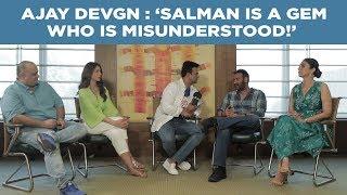 Ajay Devgn : 'Salman is a gem who is misunderstood!' #DeDePyaarDe