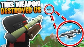 This Weapon Destroyed US! | Minecraft WAR #73