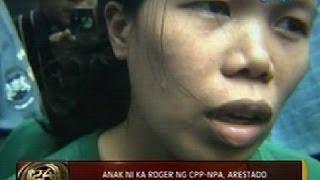 Anak ni Ka Roger ng CPP-NPA, arestado