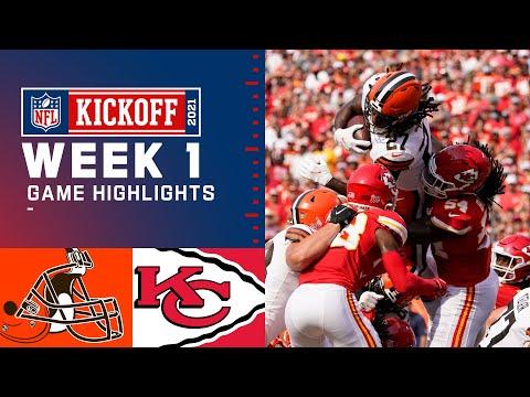 Browns vs. Chiefs Week 1 Highlights NFL 2021