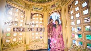 Happy and Loud | WeddingNama | Udaipur Wedding Film