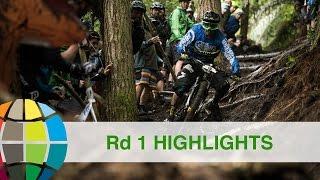 Battle Of Rotorua - Round 1 Full Race Highlights   EWS Rotorua NZ 2017