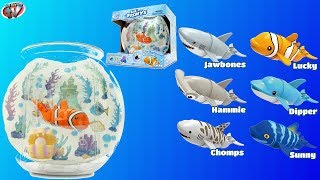 Lil' Fishys Motorised Fish & Fish Bowl Pack Toy Review, Redwood Ventures