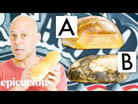 Bread Expert Guesses Cheap vs Expensive Bread Price Points Epicurious