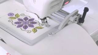 SINGER® Futura XL-580 Endlosstickrahmen