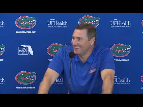 Florida Football: Dan Mullen Press Conference 10-22-18