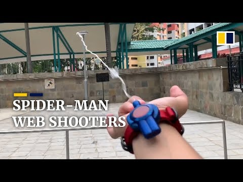 Xxx Mp4 Man Creates Fully Functional Spider Man Web Shooter 3gp Sex