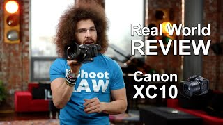 "Canon XC10 4K Camcorder ""Real World Review"""