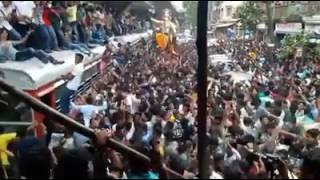 Mumbai Ganpati Dance on Zingat (Sairat) . Must Watch