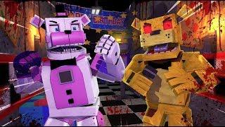 FNAF.EXE Golden Freddy.EXE Attacks!- Minecraft FNAF Roleplay