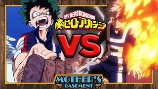 Deku vs Todoroki - Animelee (My Hero Academia)