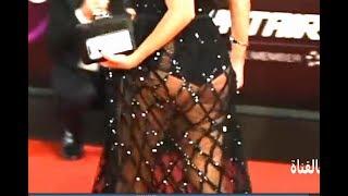 رانيا يوسف جديد HD فضيحة الفستان المكشوف بمهرجان القاهرة السينمائي  اين البطانة؟