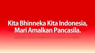 Kita Bhinneka Kita Indonesia (Lyrics Video)