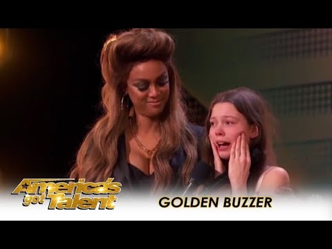 Xxx Mp4 Courtney Hadwin Shy Schoolgirl SHOCKS The Judges Gets GOLDEN BUZZER America S Got Talent 2018 3gp Sex
