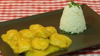 Cómo hacer pollo al curry / receta fácil