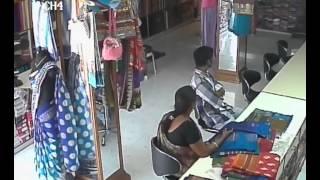 Shop Lifting at Vanasthali Puram Saree Shop
