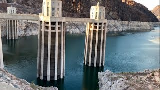 Hoover Dam LOW WATER LEVEL   SUBSCRIBE ****WOW****   08-31-2017