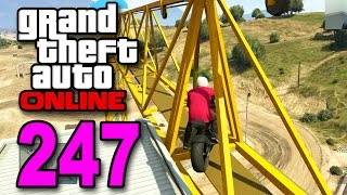 Grand Theft Auto 5 Multiplayer - Part 247 - Crane Jumping (GTA Online Let's Play)