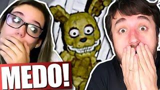 PASSANDO MEDO! - Five Nights at Freddy's 4 (com Malena)