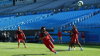 Pre-Season Live: Liverpool train at Bank of America Stadium | Salah, Mane and Keita