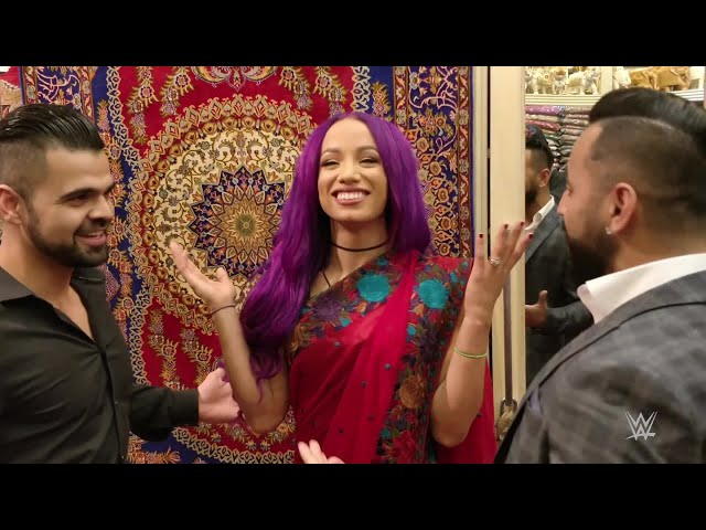 The Singh Brothers divide their time with Alexa Bliss, Sasha Banks