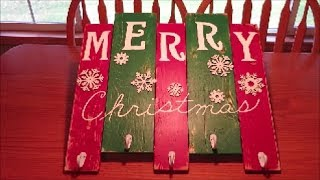 christmas stocking holder craft