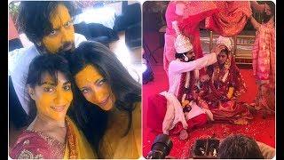 অবশেষে সাত পাকে বাঁধা পড়লেন রিয়া সেন! দেখে নিন বিয়ের ছবি | Riya Sen Wedding / Marriage News 2017!