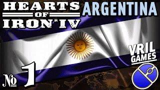 Hearts of Iron 4 | Fascist Argentina | Ironman Series #1