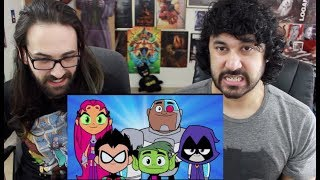 Teen Titans GO! To The Movies - Official Teaser Trailer REACTION!!!
