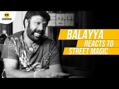 Nandamuri Balakrishna's Shocking Reaction To Magic | Jaadoo | Chai Bisket