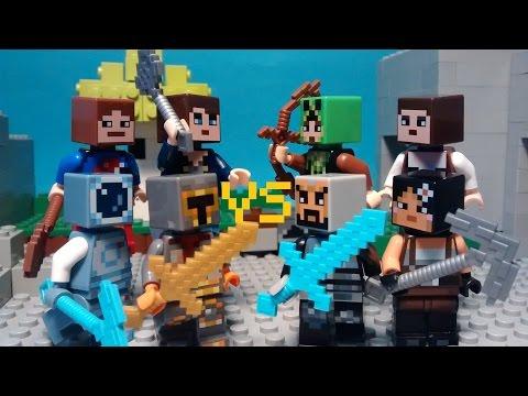 Lego Minecraft The Walls Faceoff