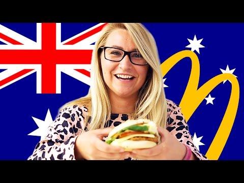 watch Americans Try Australian McDonald's (Macca's)