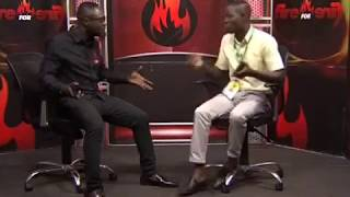 Commentary Position - Fire 4 Fire on Adom TV (17-8-17)