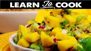 How to Make Mango Avocado Salsa