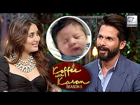 Shahid Kapoor Asked About Kareena's Son Taimur Ali Khan On Koffee With Karan | LehrenTV