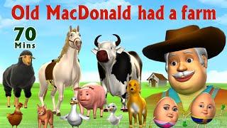 Old MacDonald Had A Farm  - Kids