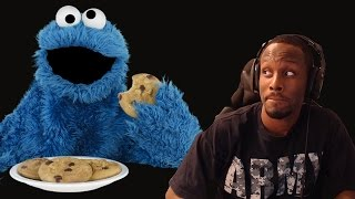 Don't Touch the Cookie Monster's Cookies!!!!REACTION!!!!