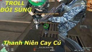 Bình Luận CF : TROLL Cướp Súng | Tiến Xinh Trai Zombie V4