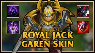 Garen TOP | ROYAL JACK GAREN SKIN | MAX LETHALITY ON GAREN | Build And Play | League Of Legend