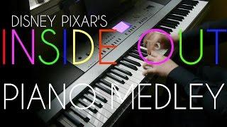 Disney Pixar's Inside Out 2015 Soundtracks (Piano Suite)
