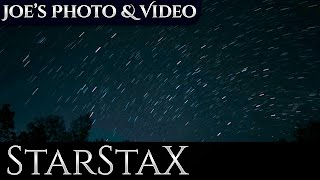 How To Create Star Trails | StarStaX Tutorial