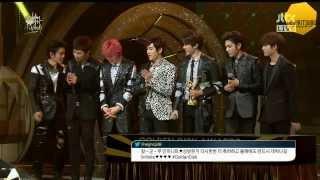 [INSPIRITSUBS] 140116 Golden Disk Awards - Bonsang Speech