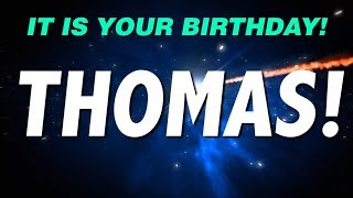 HAPPY BIRTHDAY THOMAS! This is your gift.