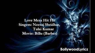 Love Mera Hit Hit [English Translation] Lyrics
